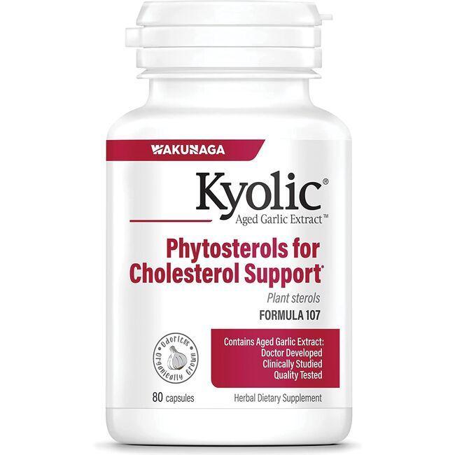 Kyolic#107 Aged Garlic Extract Phytosterols