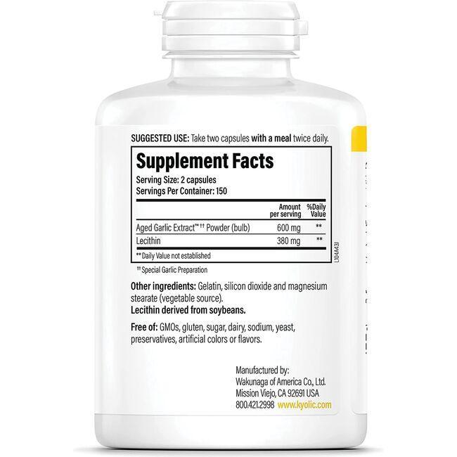 KyolicCholesterol with Lecithin Formula 104 Close Up