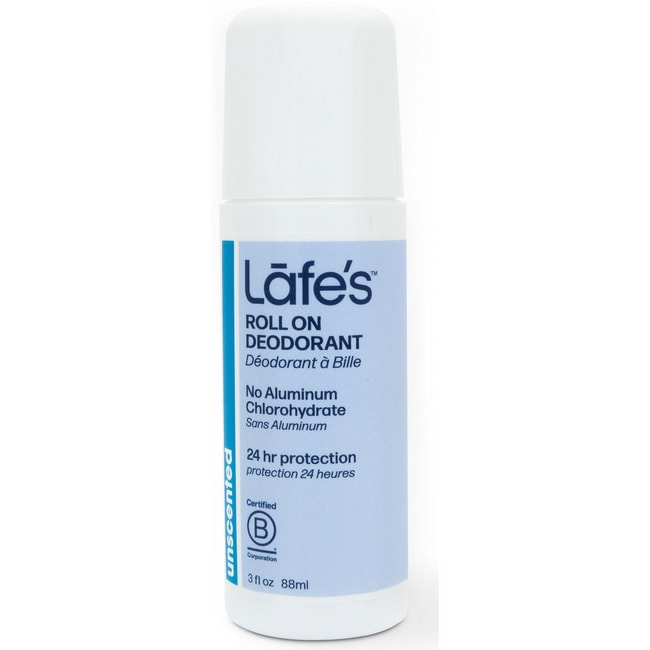 Lafe's Roll On Deodorant All Natural Unscented