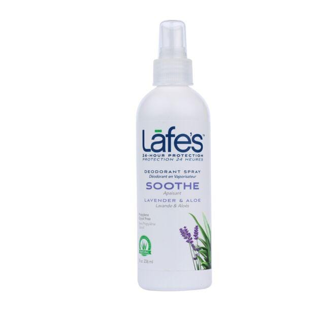 Lafe's Natural and Organic Deodorant Spray Lavender