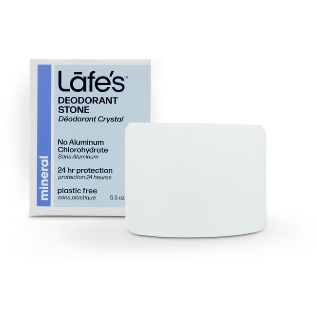 Lafe's Natural and Organic Deodorant Stone with Holder