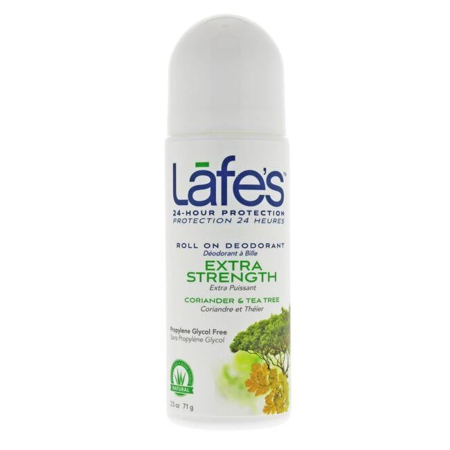 Lafe's All Natural Roll On Deodorant - Tea Tree