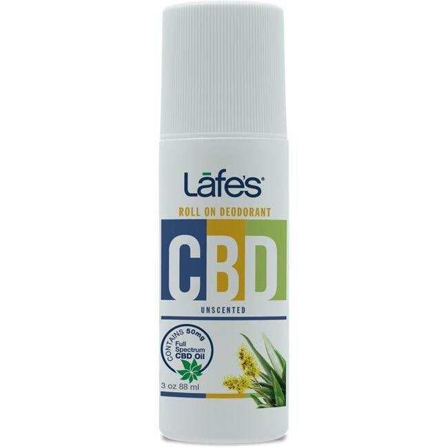 Lafe's CBD Roll-On Deodorant - Unscented