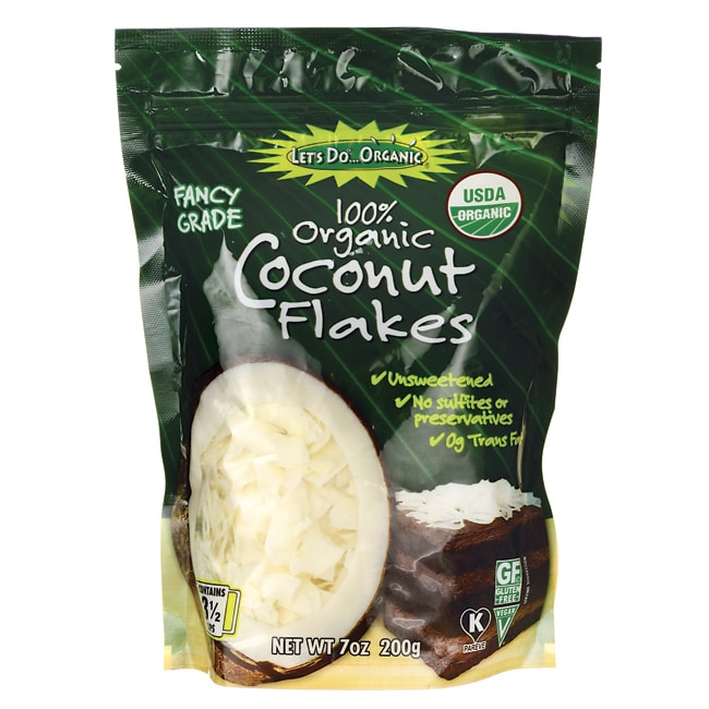Let's Do Organic100% Organic Coconut Flakes