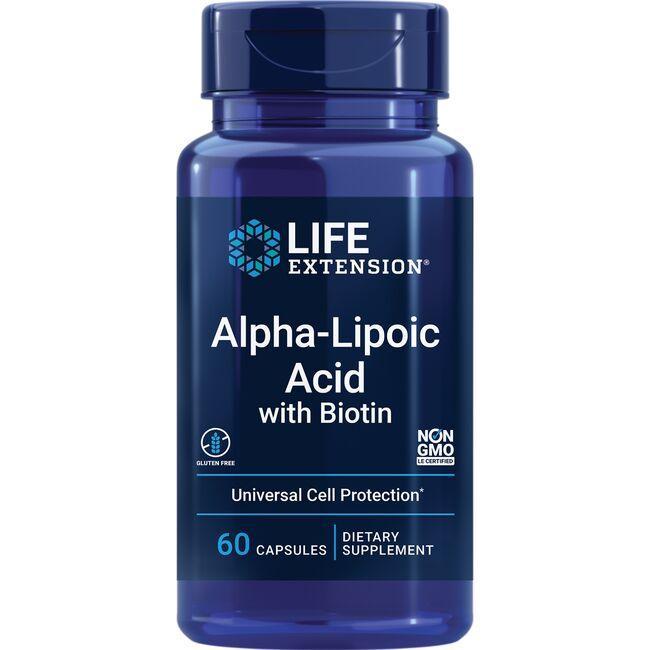 Life ExtensionSuper Alpha-Lipoic Acid Biotin