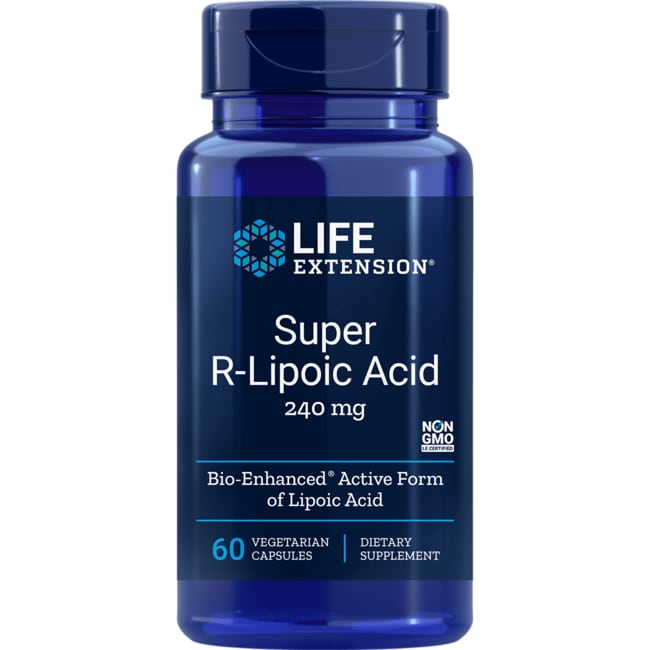 Life Extension Super R-Lipoic Acid