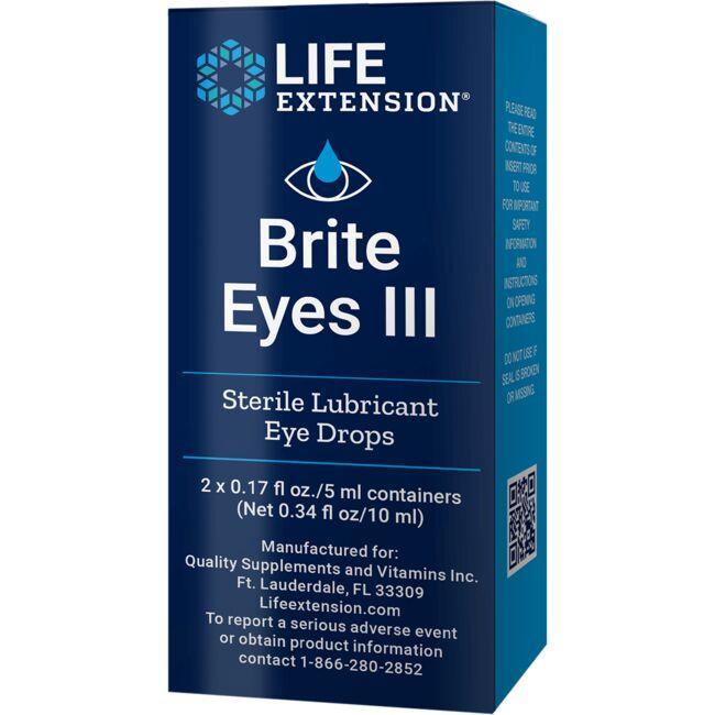 Life ExtensionBrite Eyes III