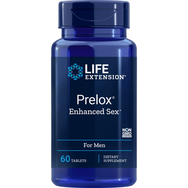 Life Extension Prelox Natural Sex for Men