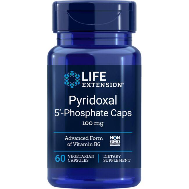 Life ExtensionPyridoxal 5'-Phosphate Caps