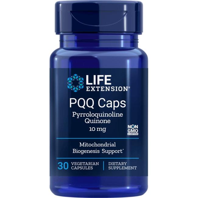 Life ExtensionPQQ Caps with BioPQQ Pyrroloquinoline Quinone