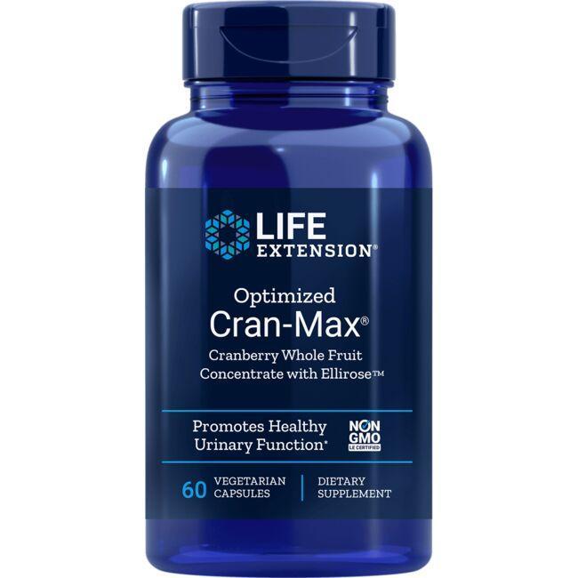 Life ExtensionOptimized Cran-Max with UTIRose