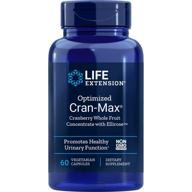 Life ExtensionOptimized Cran-Max with UTIRose