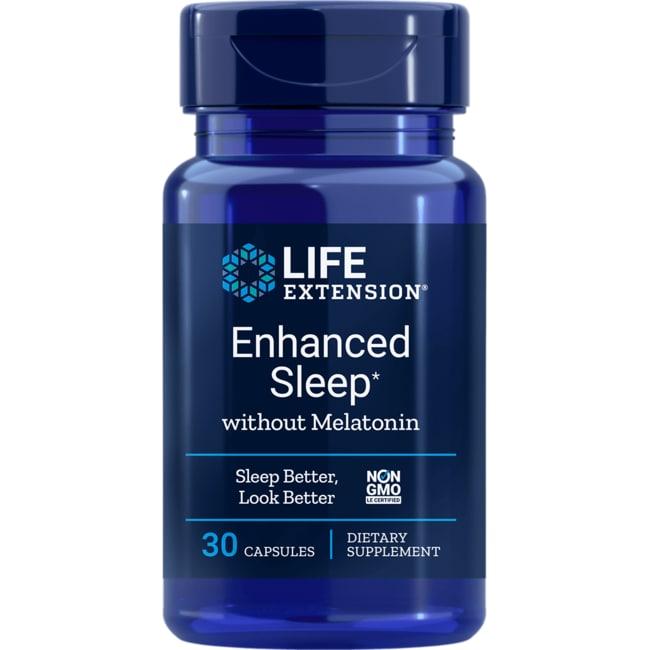 Life Extension Enhanced Natural Sleep without Melatonin