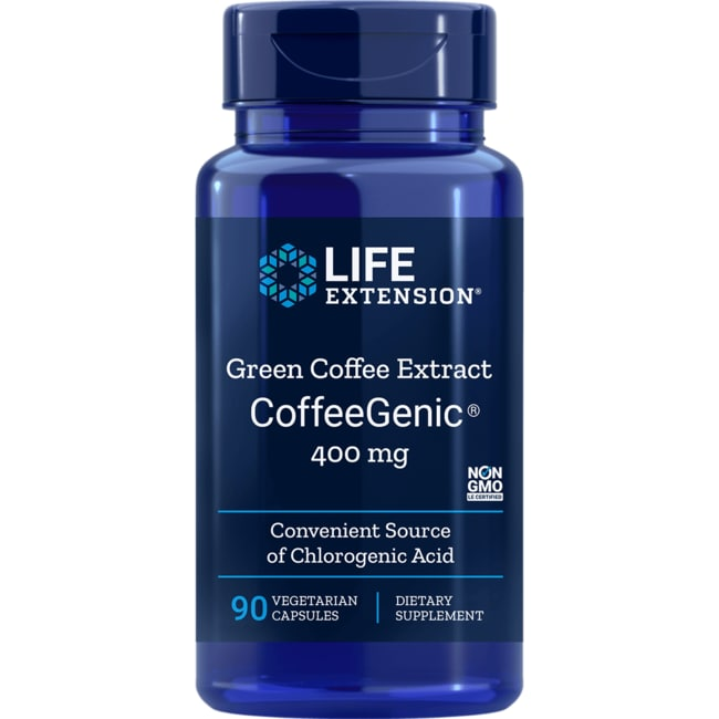 Life Extension CoffeeGenic Green Coffee Bean Extract
