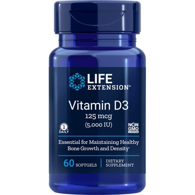 Life ExtensionVitamin D3