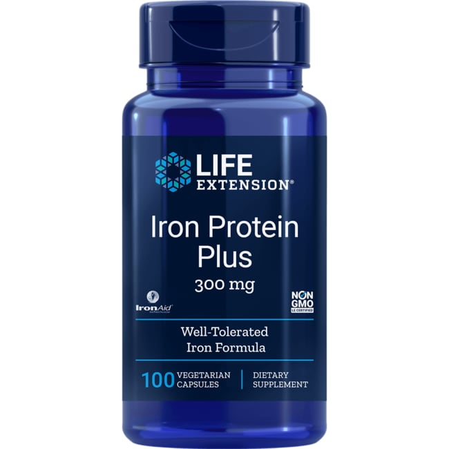 Life Extension Iron Protein Plus