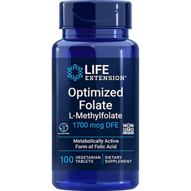 Life Extension Optimized Folate L-Methylfolate