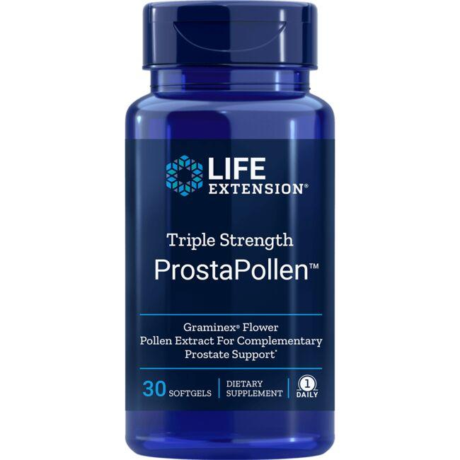 Life Extension Triple Strength ProstaPollen