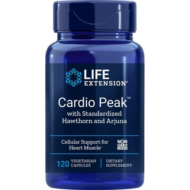 Life Extension Cardio Peak with Standardized Hawthorn and Arjuna