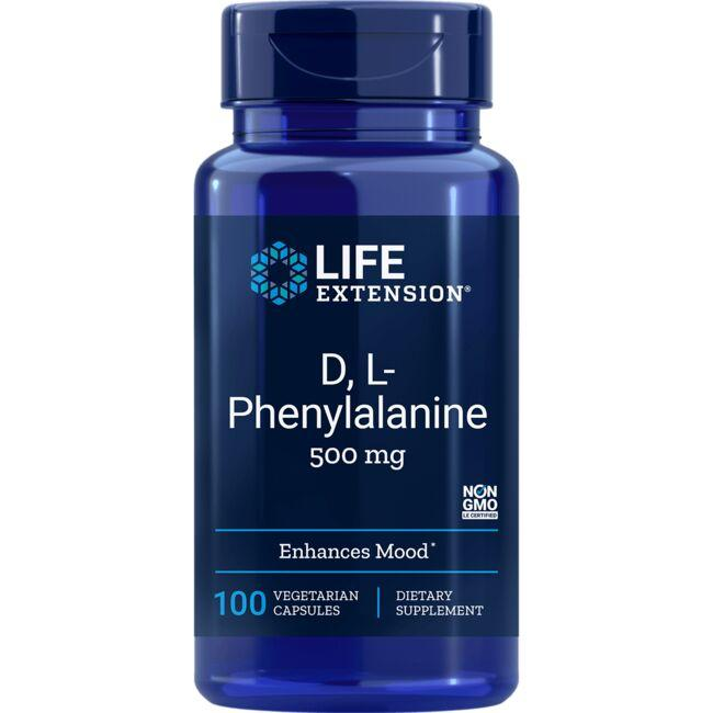 Life Extension D, L-Phenylalanine