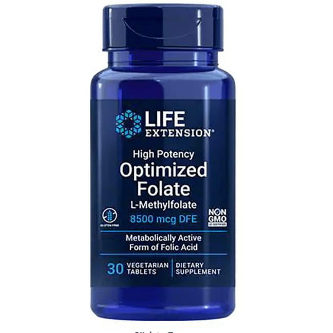 Life ExtensionHigh Potency Optimized Folate