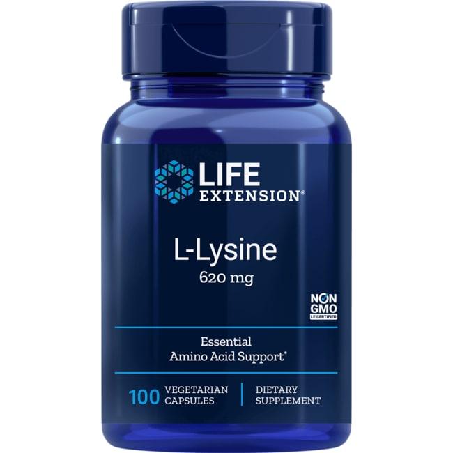 Los Aminoácidos Vida extensión L-lisina 620 mg 100 Veg tapas Productos para tu Salud en Veo y Compro  + L-lisina en Veo y Compro