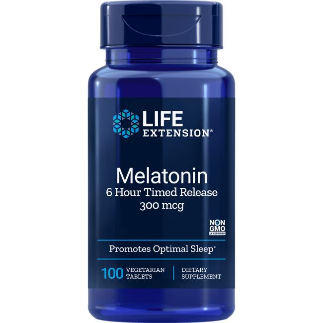 Life Extension Melatonin 6 Hour Timed Release