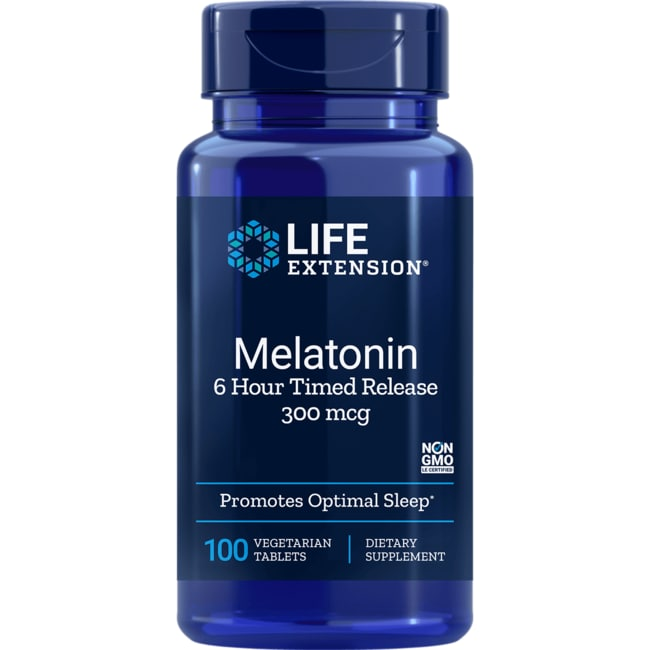 Life ExtensionMelatonin 6 Hour Timed Release