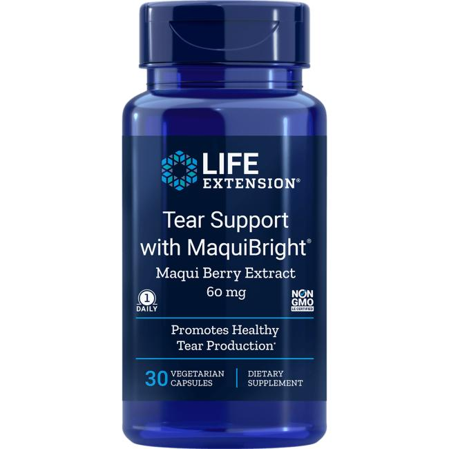 Life ExtensionTear Support with MaquiBright