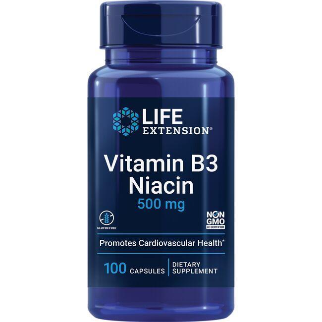 Life ExtensionVitamin B3 Niacin