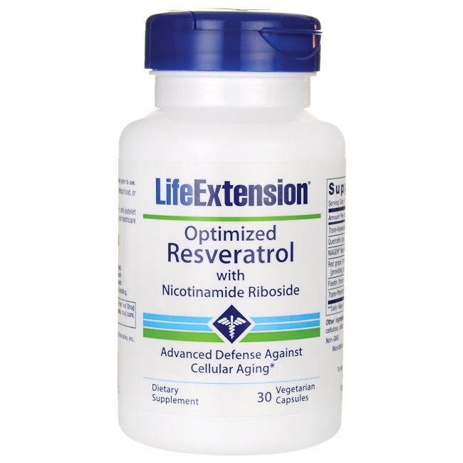 Life ExtensionOptimized Resveratrol with Nicotinamide Riboside