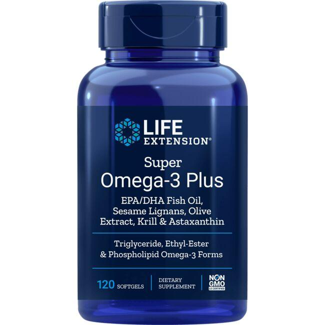 Life Extension Super Omega-3 Plus