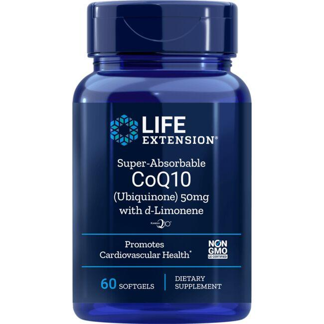 Life ExtensionSuper Absorbable CoQ10 with d-Limonene