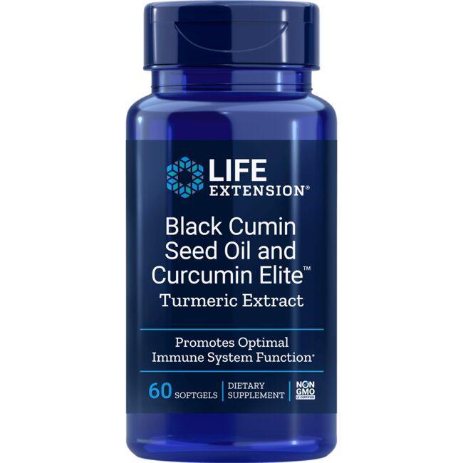 Life ExtensionBlack Cumin Seed Oil and Curcumin Elite