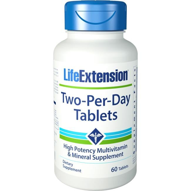 Life ExtensionTwo-Per-Day Tablets