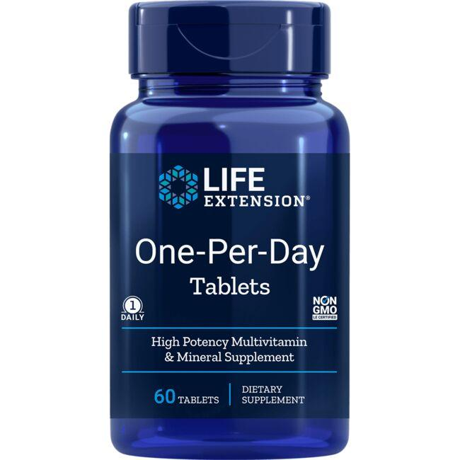 Life ExtensionOne-Per-Day Tablets