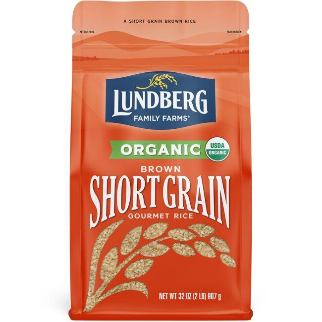 Lundberg Family Farms Organic Short Grain Brown Rice 2 lb