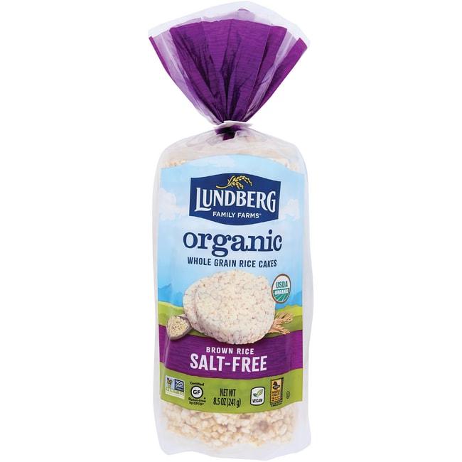 Lundberg Family FarmsOrganic Brown Rice Cakes - Salt Free