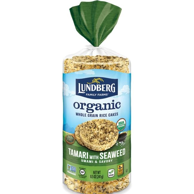 Lundberg Family FarmsOrganic Rice Cakes - Tamari with Seaweed