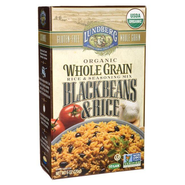 Lundberg Family Farms Whole Grain Black Beans & Rice