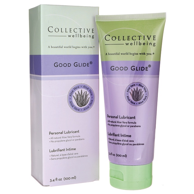 Life-FloCollective Wellbeing Good Glide Personal Lubricant Aloe Vera