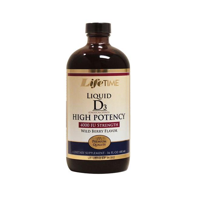 Lifetime Vitamins Liquid D3 High Potency - Wild Berry