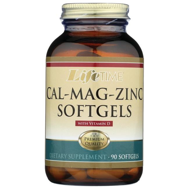 Lifetime Vitamins Cal-Mag-Zinc Softgels with Vitamin D