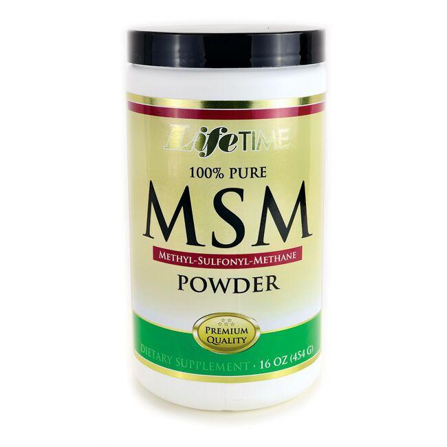 Lifetime Vitamins 100% Pure MSM Powder