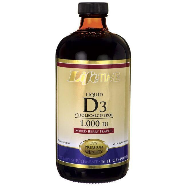 Lifetime VitaminsLiquid D3 Mixed Berry