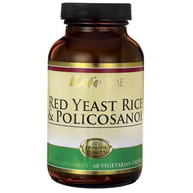 Lifetime Vitamins Red Yeast Rice & Policosanol