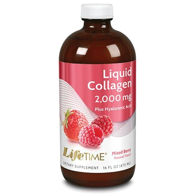 Lifetime Vitamins Liquid Collagen with Hyaluronic Acid & Vitamin D3