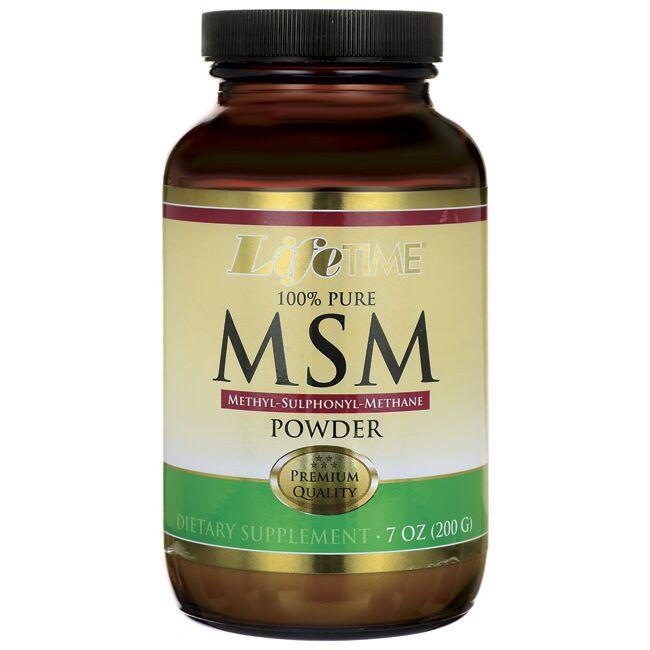 Lifetime Vitamins 100% Pure MSM