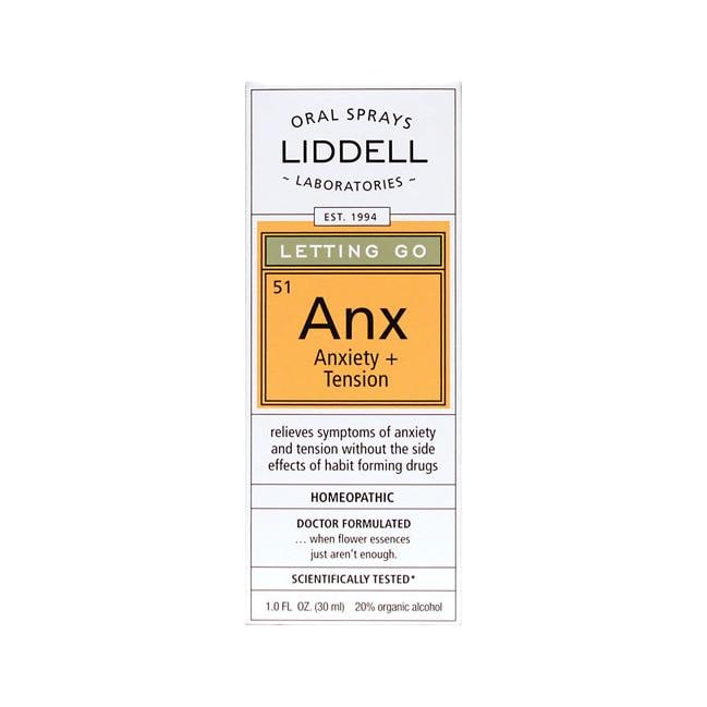 Liddell Laboratories Letting Go: Anx Anxiety + Tension