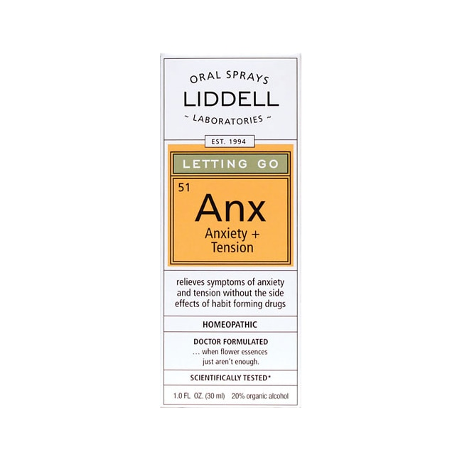 Liddell LaboratoriesLetting Go: Anx Anxiety + Tension
